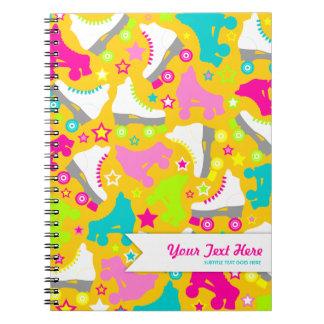 Retro Skates Notebook