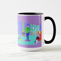 Retro Ski Vacation Coffee Mug
