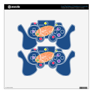 Retro skins PS3 controller decal