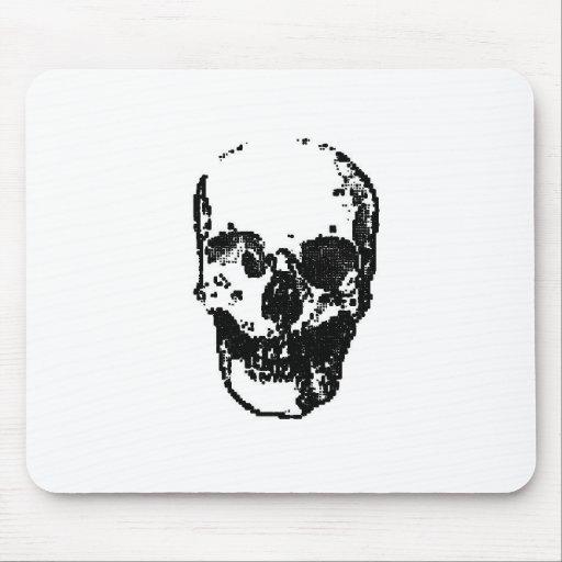 Retro Skull Mouse Pad