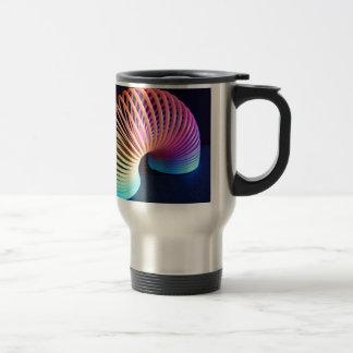 Retro Slinky Personalised Birthday Christmas Travel Mug
