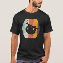 Retro Sloth Design or Men Women Kids T-Shirt