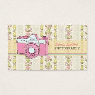 Retro SLR Camera Photography Business Cards