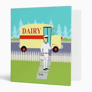 Retro Small Town Milkman Binder