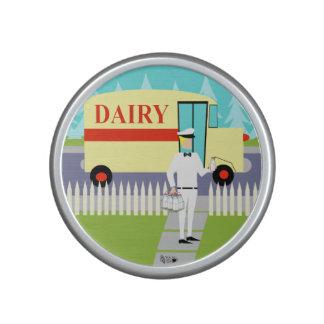 Retro Small Town Milkman Bumpster Speaker