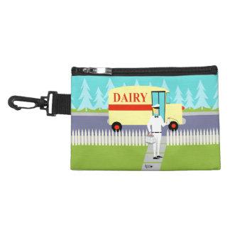 Retro Small Town Milkman Clip On Accessory Bag
