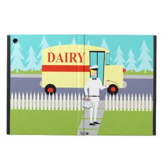 Retro Small Town Milkman iPad Air Case