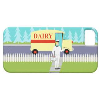 Retro Small Town Milkman iPhone 5/5S Case