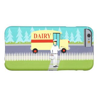 Retro Small Town Milkman iPhone 6 Case