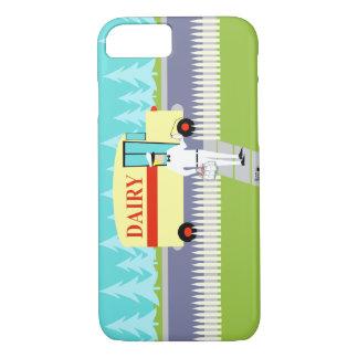Retro Small Town Milkman iPhone 7 Case