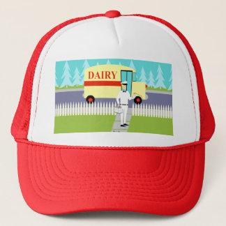 Retro Small Town Milkman Trucker Hat