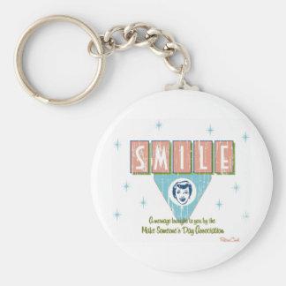 Retro 'Smile' Keychain