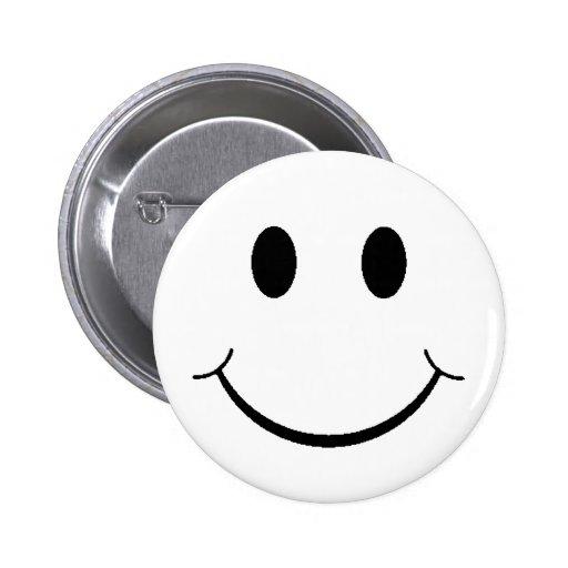 Retro Smiley Button