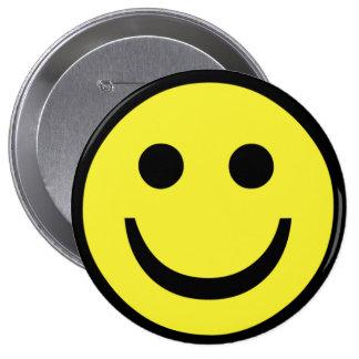 retro Smiley face Pinback Button