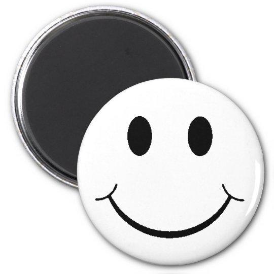 Retro Smiley Magnet