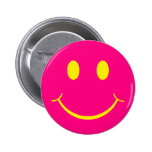 Retro Smiley Pinback Buttons