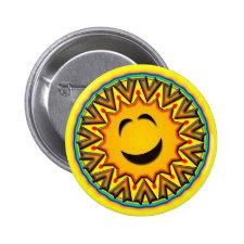 RETRO SMILEY SUN PINS