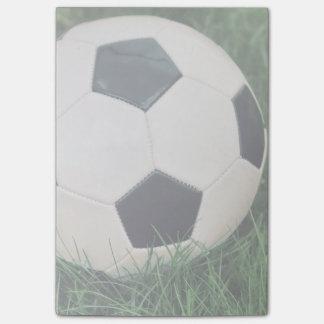 Retro Soccer Ball Post-it Notes