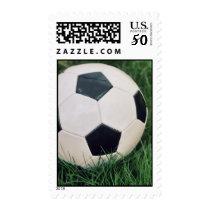 Retro Soccer Ball Postage