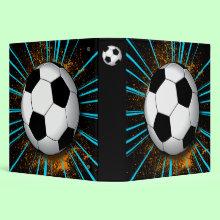 Retro style Soccer Binder