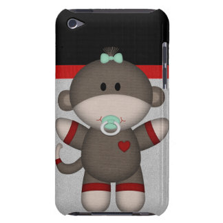 Retro Sock Monkey Baby iPod Touch Cover