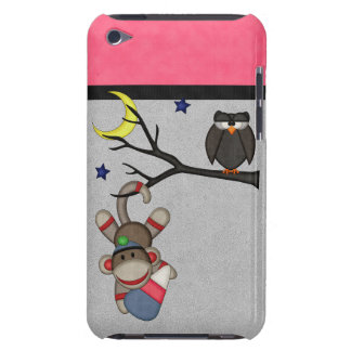 Retro Sock Monkey Case-Mate iPod Touch Case