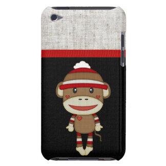 Retro Sock Monkey iPod Touch Case