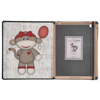 Retro Sock Monkey Covers For iPad
