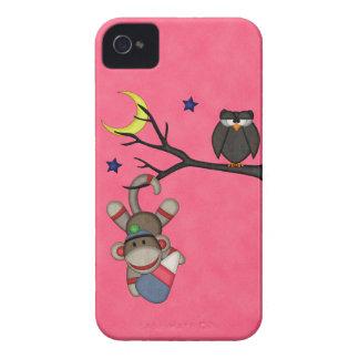 Retro Sock Monkey iPhone 4 Covers