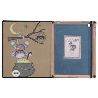 Retro Sock Monkey iPad Covers
