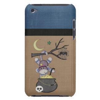 Retro Sock Monkey iPod Case-Mate Cases