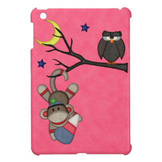 Retro Sock Monkey iPad Mini Cover