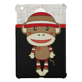 Retro Sock Monkey iPad Mini Cases