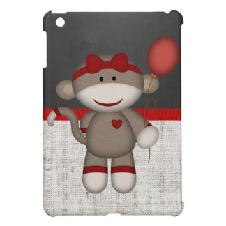 Retro Sock Monkey Case For The iPad Mini
