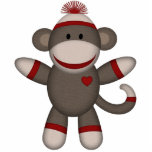 "Retro Sock Monkey Statuette<br><div class=""desc"">This is an adorable retro sock monkey. Bring back some awesome memories with this custom gift.</div>"