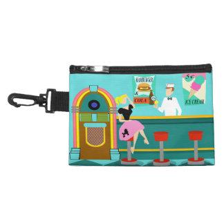 Retro Soda Fountain Clip On Accessory Bag