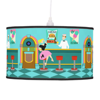 Retro Soda Fountain Pendant Lamp