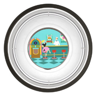 Retro Soda Fountain Pet Bowl