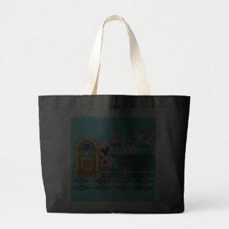 Retro Soda Fountain Tote Bag