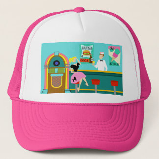 Retro Soda Fountain Trucker Hat