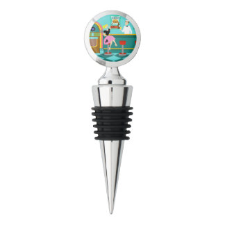 Retro Soda Fountain Wine Stopper