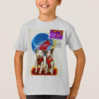 RETRO SPACE AGE (DOG ASTRONAUTS) T-Shirt