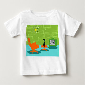 Retro Space Age Kitty Infant T-Shirt