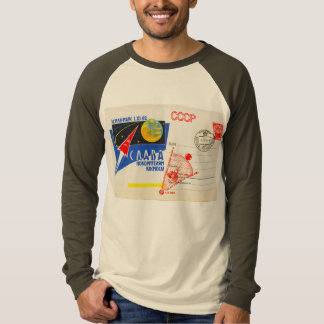 RETRO SPACE AGE Long Sleeve Raglan T Shirt