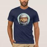 """Retro Space Cat T-Shirt<br><div class=""""desc"""">Funny T-shirt with retro astronaut space cat</div>"""