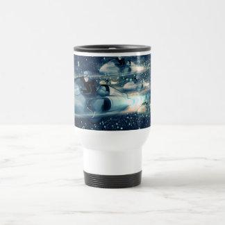 Retro Space cruiser Coffee Mug