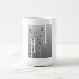 Retro Space Flight Coffee Mug