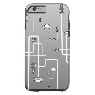 Retro Space Flight Tough iPhone 6 Case
