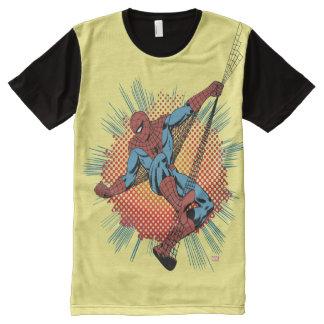 Retro Spider-Man Spidey Senses All-Over-Print T-Shirt