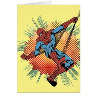 Retro Spider-Man Spidey Senses Card